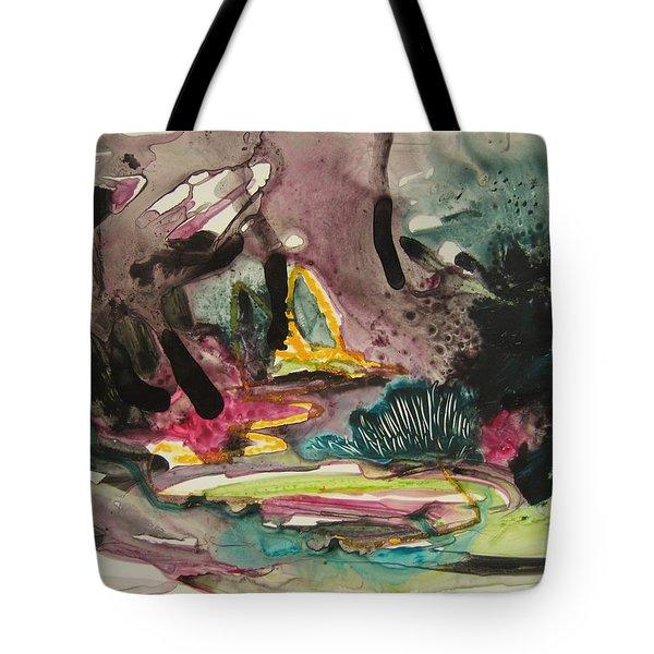 Color Fever 136 Tote Bag by Seon-Jeong Kim