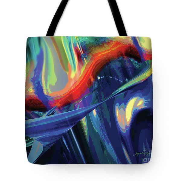 Color Flight Tote Bag