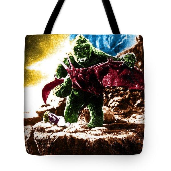 Color King Kong Tote Bag