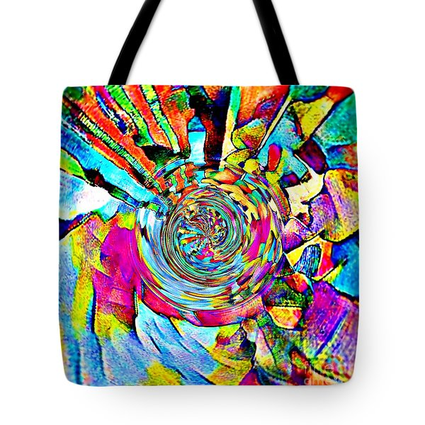 Color Lives Here Tote Bag