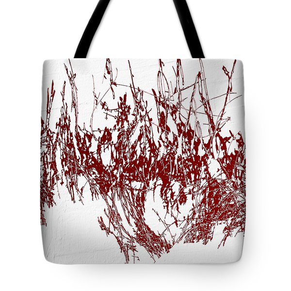 Tote Bag featuring the digital art Color Me Dexter by Ken Walker