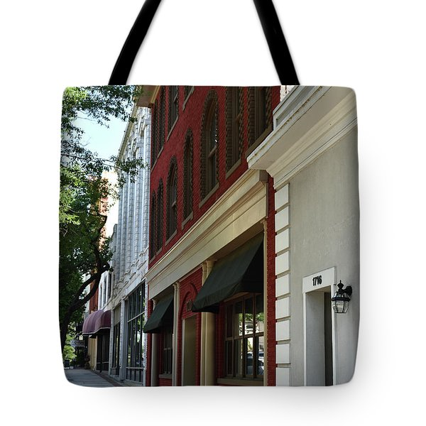 Tote Bag featuring the photograph Color Me Main St Usa by Skip Willits