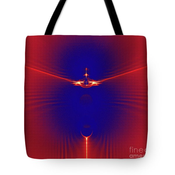 Color Meets Energy Tote Bag