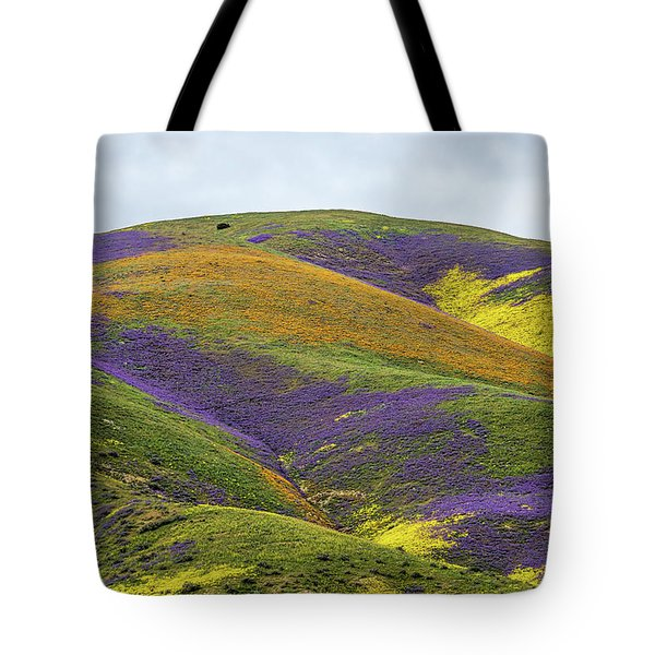 Tote Bag featuring the photograph Color Mountain I by Peter Tellone