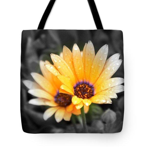 Color My Petals Tote Bag