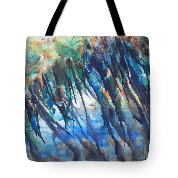 Color My World Tote Bag by Chrisann Ellis