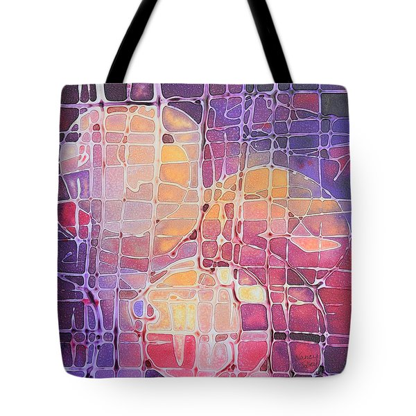 Color Odyssey Tote Bag by Nancy Jolley