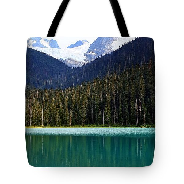 Lower Joffre Lake Tote Bag