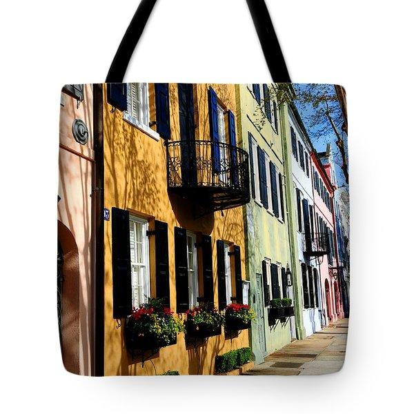 Color Of Charleston Tote Bag