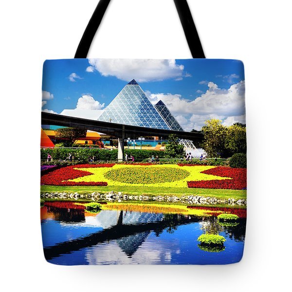 Tote Bag featuring the photograph Color Of Imagination by Greg Fortier