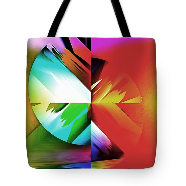 Color Of The Fractal Tote Bag