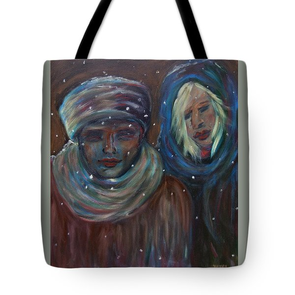 Color Of Winter Tote Bag