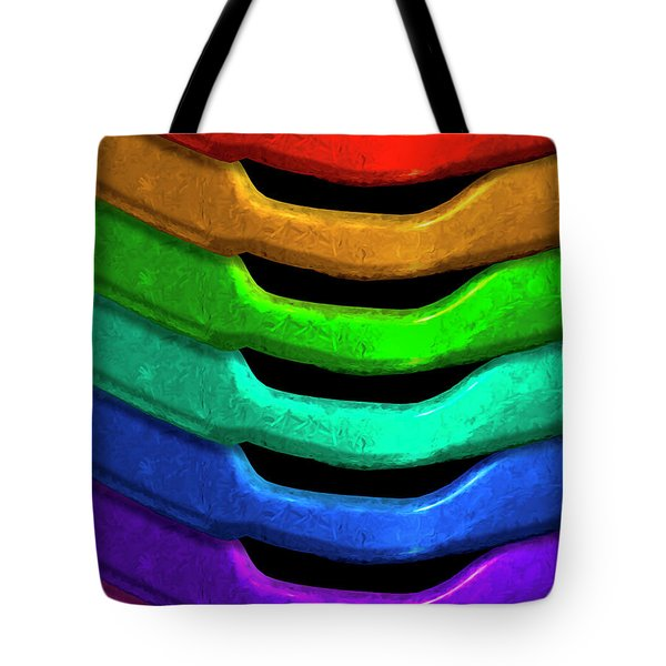 Tote Bag featuring the photograph Color Pallet by Paul Wear