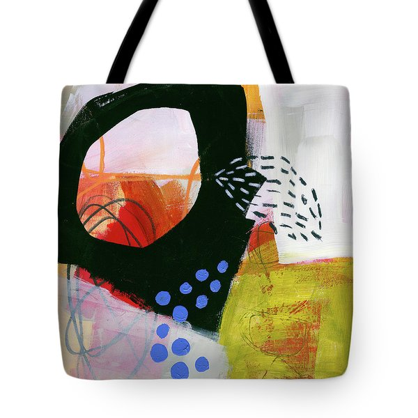 Color, Pattern, Line #3 Tote Bag by Jane Davies