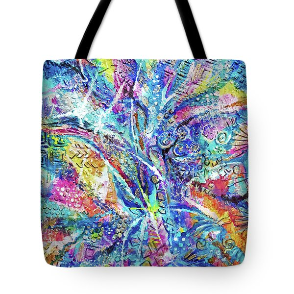 Color Play 1 Tote Bag