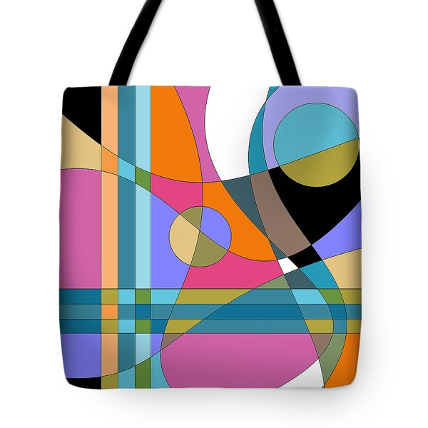Color Play Tote Bag