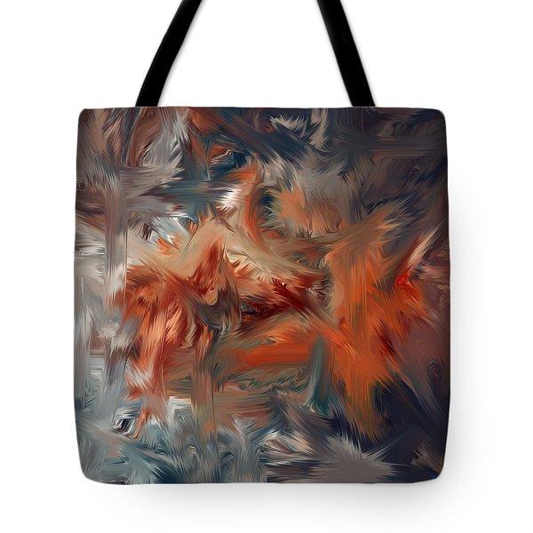 Color Reality 54 Tote Bag