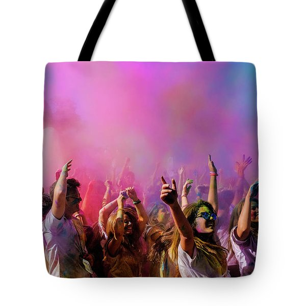 Color Sky Tote Bag