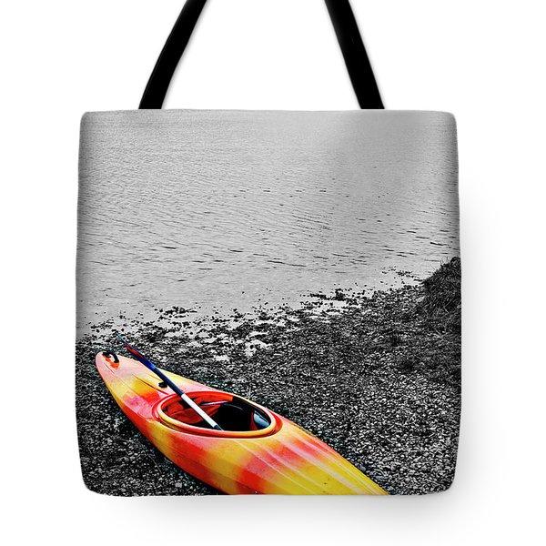 Color Splash Tote Bag by Meirion Matthias
