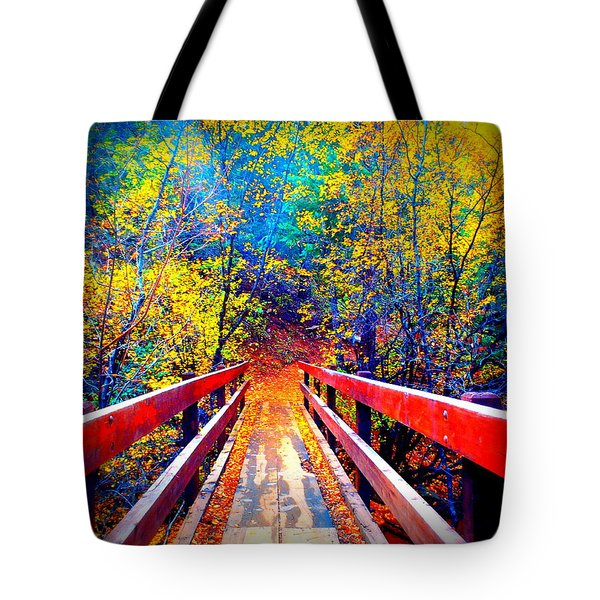 Color Springs Tote Bag
