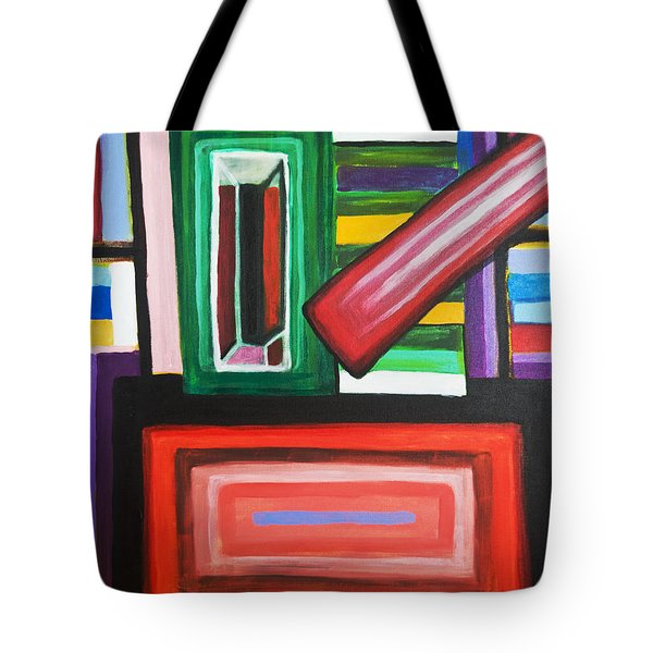 Color Squares Tote Bag