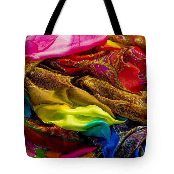 Color Storm Tote Bag by Paul Wear