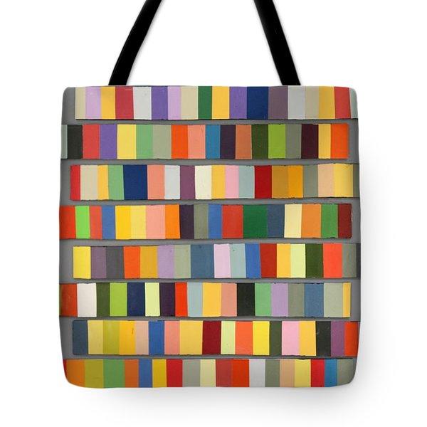 Color Strips Tote Bag