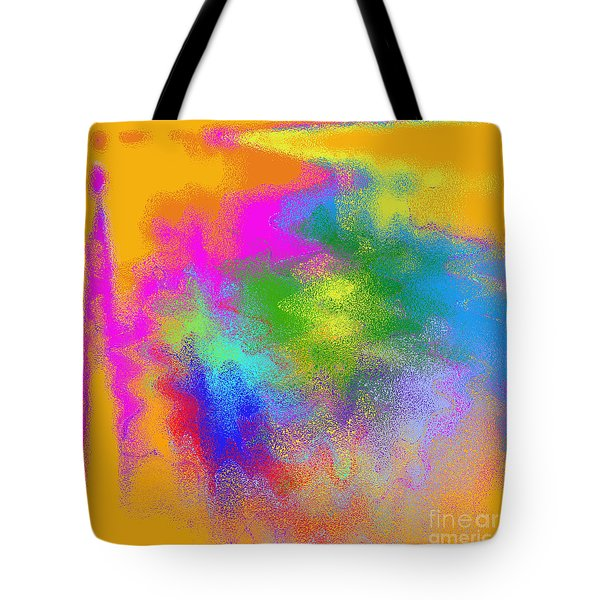 Color Towers Tote Bag