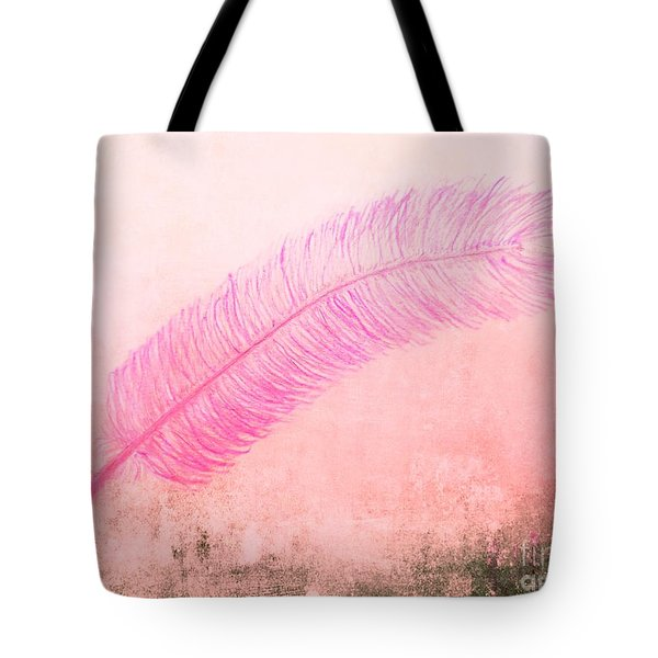 Color Trend Feather In The Wind Tote Bag