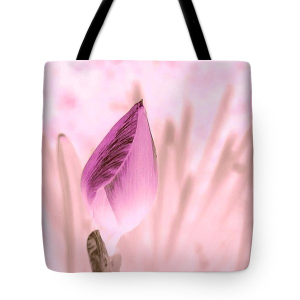 Color Trend Flower Bud Tote Bag