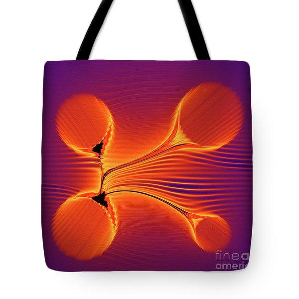 Color Twist Tote Bag