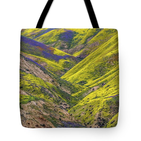 Tote Bag featuring the photograph Color Valley by Peter Tellone