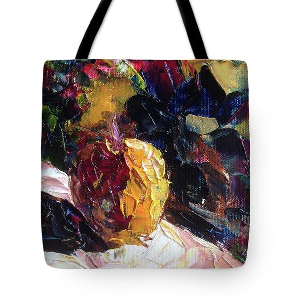 Color Volant Tote Bag