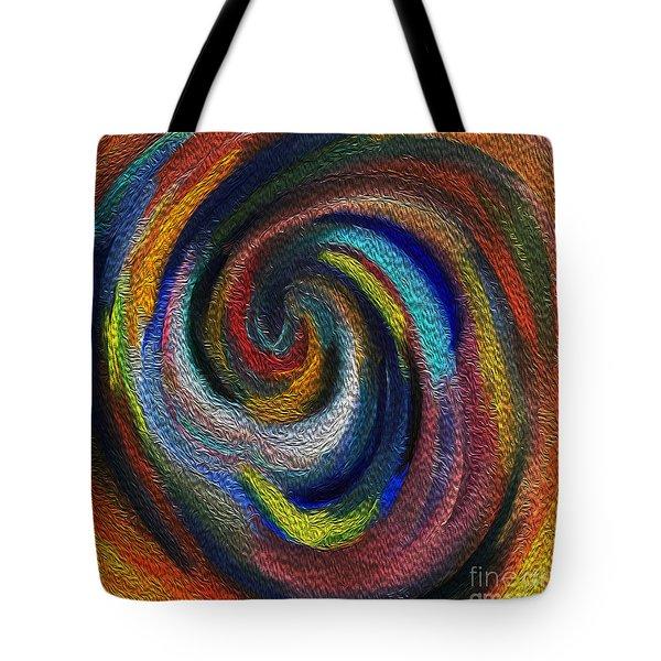 Vortex Of Passion Tote Bag