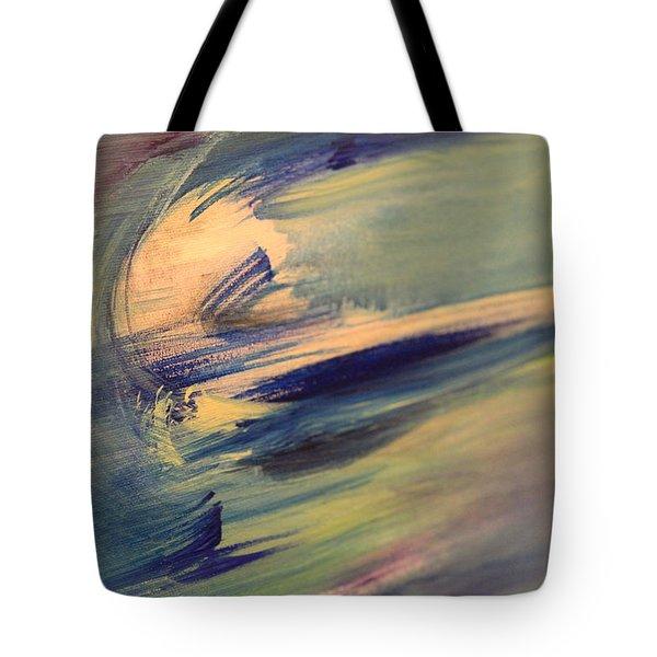 Color Washing Tote Bag
