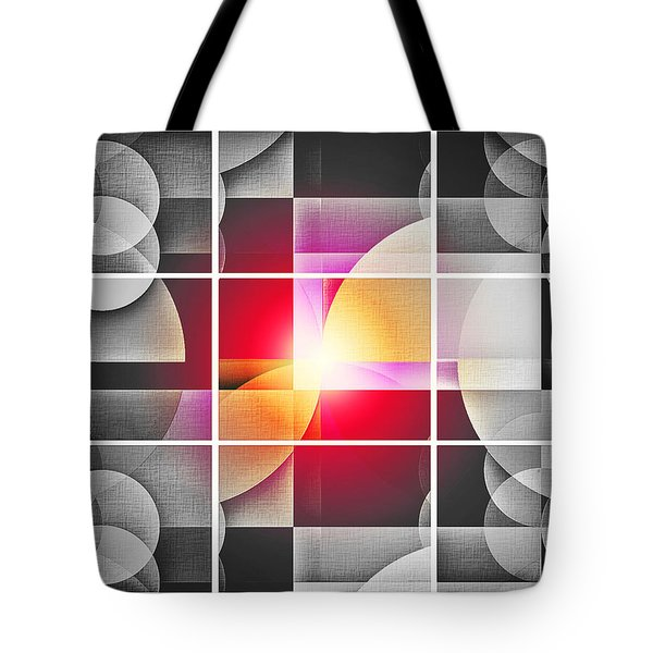 Tote Bag featuring the digital art Color Your Chiaroscuro World by Aurelio Zucco