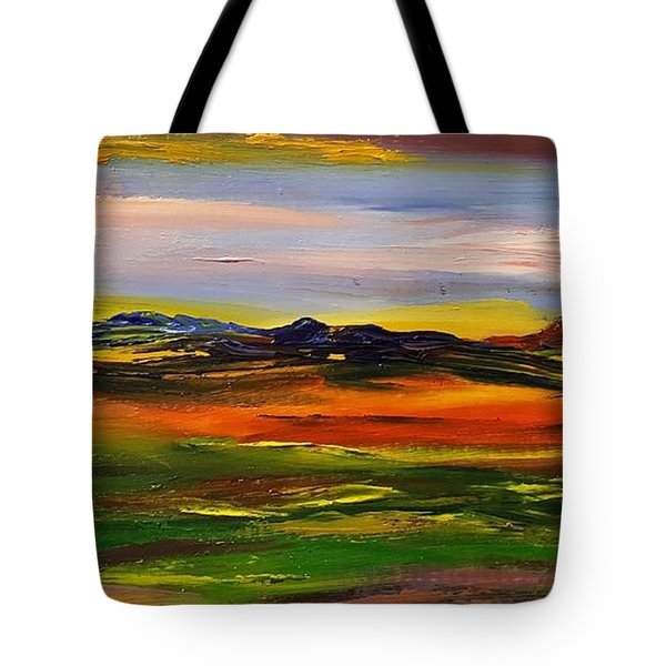Color Your World    #58 Tote Bag
