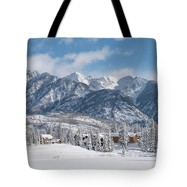 Colorad Winter Wonderland Tote Bag by Darren White