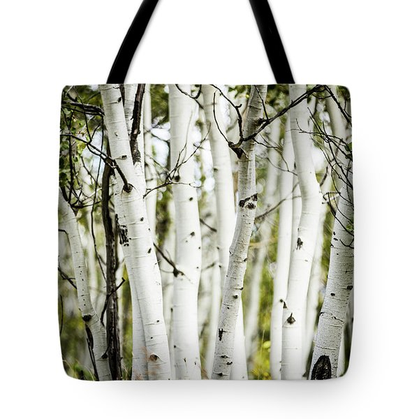 Tote Bag featuring the photograph Colorado Aspens by Dawn Romine