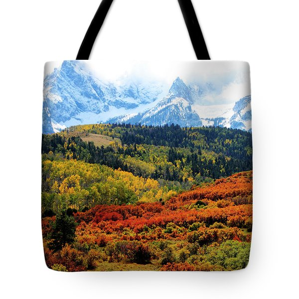 Colorado Autumn 2016 San Juan Mountains  Tote Bag