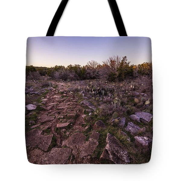 Colorado Bend State Park Gorman Falls Trail #1 Tote Bag by Micah Goff