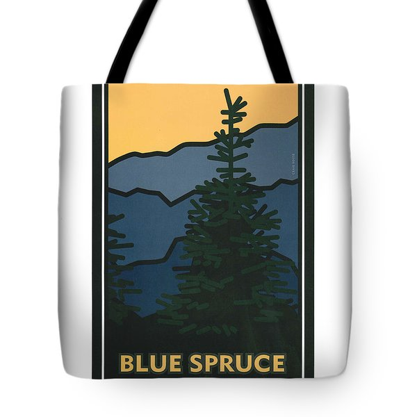 Colorado Blue Spruce Tote Bag