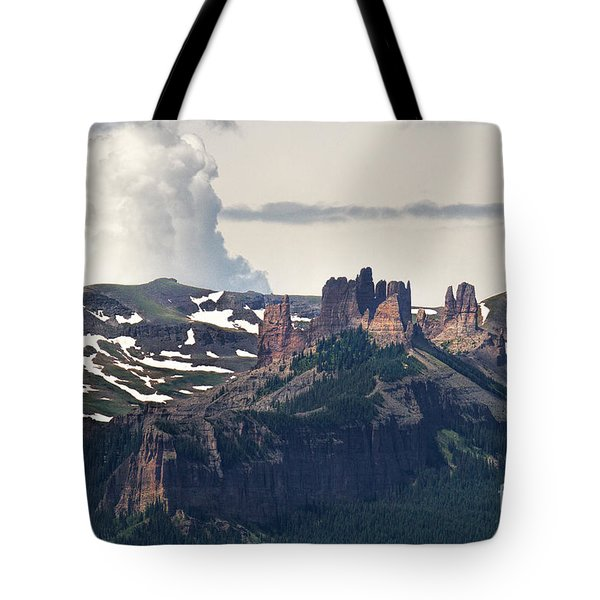 Colorado Castles Tote Bag by Jim Garrison