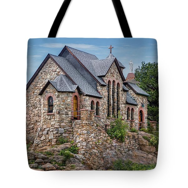 Colorado Chapel On The Rock Tote Bag