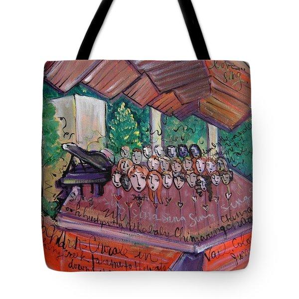 Colorado Childrens Chorale Tote Bag