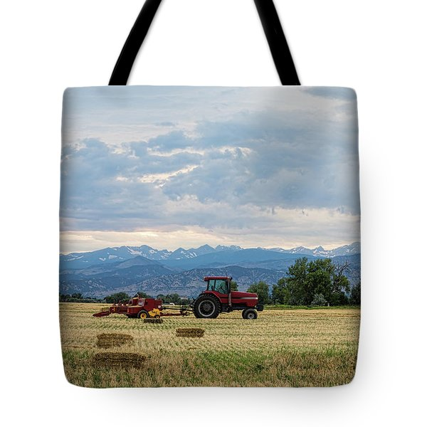 Tote Bag featuring the photograph Colorado Country by James BO Insogna