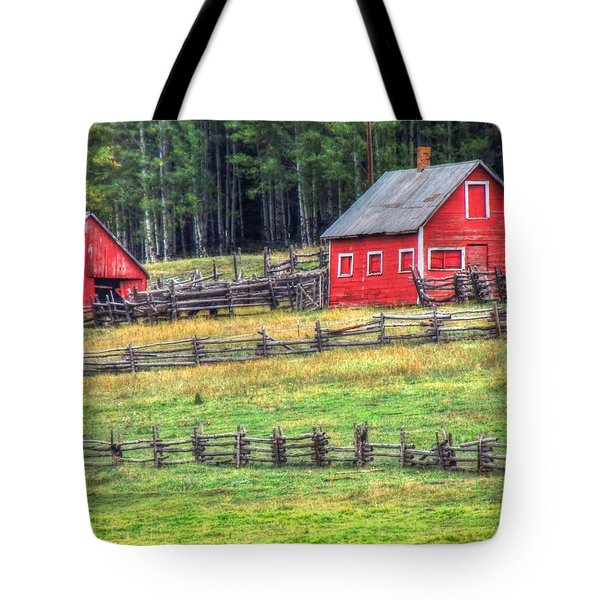 Colorado Countryside  Tote Bag