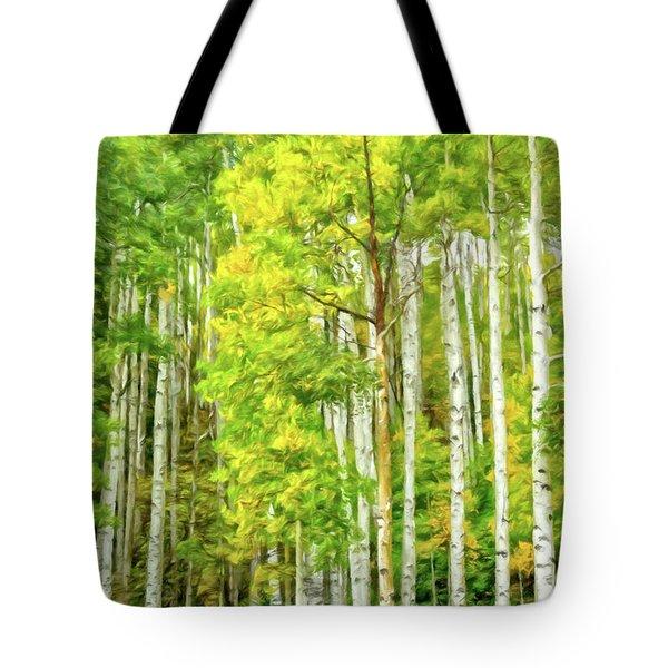 Colorado Fall Foliage Tote Bag