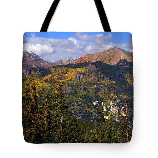 Colorado Fall Tote Bag by Marty Koch