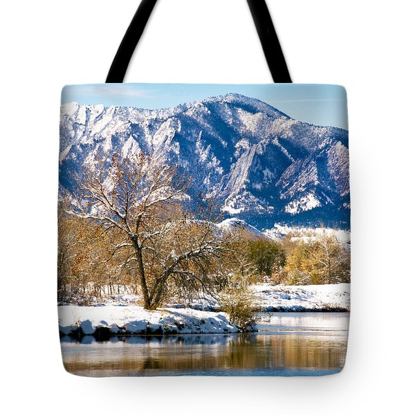 Colorado Flatirons 2 Tote Bag